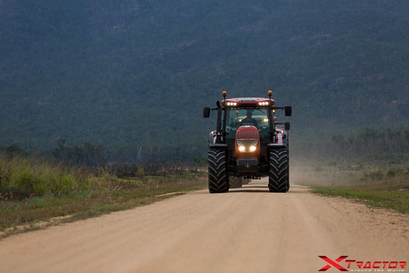 Xtractor on the road